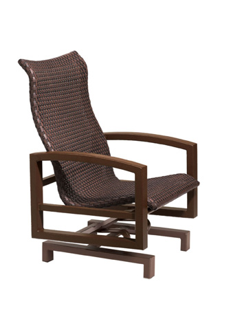 Tropitone Furniture Co., Inc. - Lakeside Woven Action Lounger - 740525WS