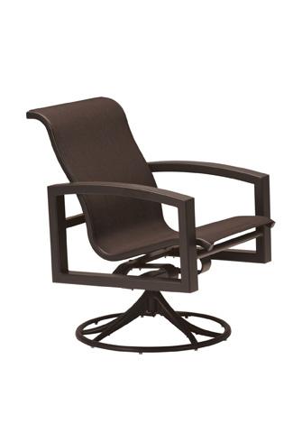 Tropitone Furniture Co., Inc. - Lakeside Sling Swivel Rocker - 740569