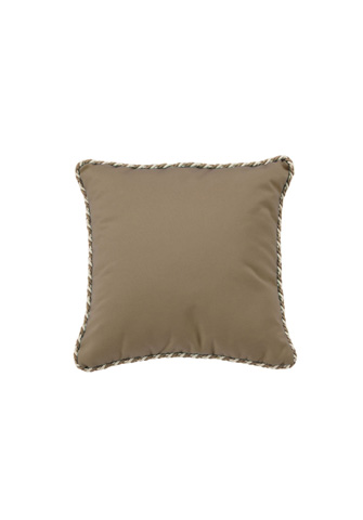Tropitone Furniture Co., Inc. - Square Throw Pillow with Cord Welt - TP16SQCD