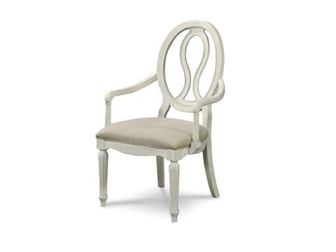 Universal Furniture - Pierced Oval Back Arm Chair - 987637-RTA