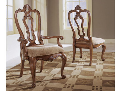 Universal Furniture - Carved Back Side Chair - 409634-RTA-C