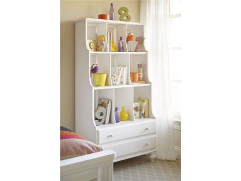 Universal - Smart Stuff - Black and White Bookcase - 437A018