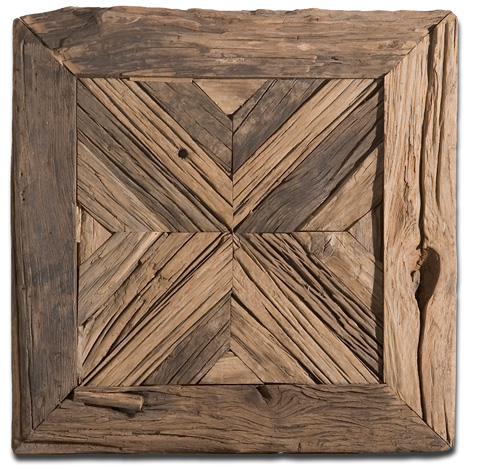 Uttermost Company - Rennick Reclaimed Wood Wall Art - 04014