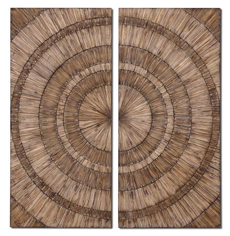 Uttermost Company - Lanciano Wood Wall Art - 07636