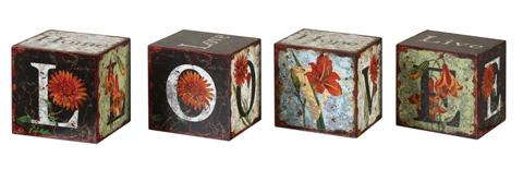Uttermost Company - Love Letters Decorative Boxes - 19540