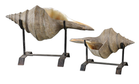 Uttermost Company - Conch Shell Sculpture - 19556