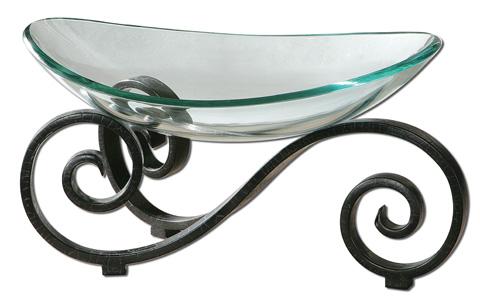 Uttermost Company - Arla Glass Bowl - 19740