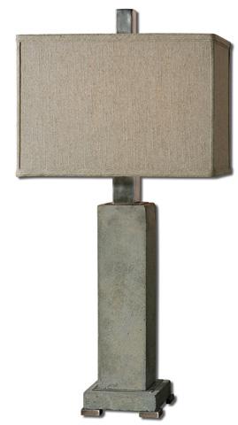 Uttermost Company - Risto Concrete Table Lamp - 26543-1