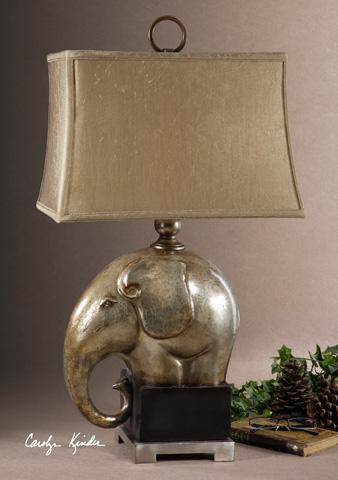 Uttermost Company - Abayomi Antique Champagne Lamp - 26739-1