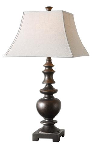 Uttermost Company - Verrone Bronze Table Lamp - 26830