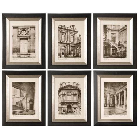Uttermost Company - Paris Scene Framed Art - 33430