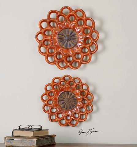 Uttermost Company - Carilla Wall Medallions - 08505