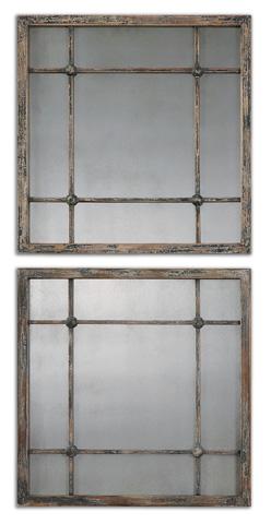 Uttermost Company - Saragano Square Wall Mirrors - 13845