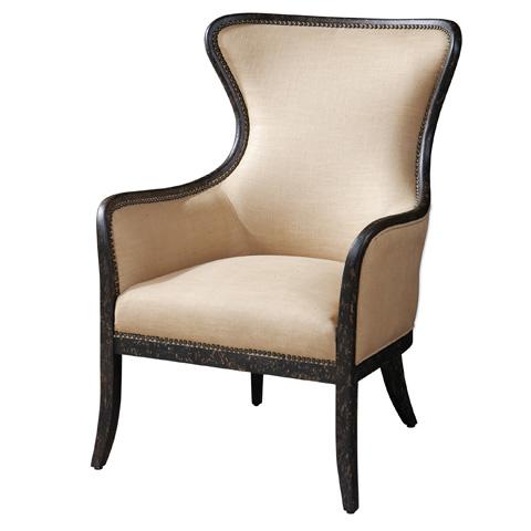Uttermost Company - Zander Wing Chair - 23051