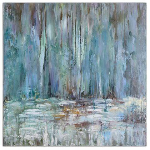 Uttermost Company - Blue Waterfall Wall Art - 32240