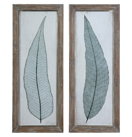 Uttermost Company - Tall Leaves Wall Art - 41514