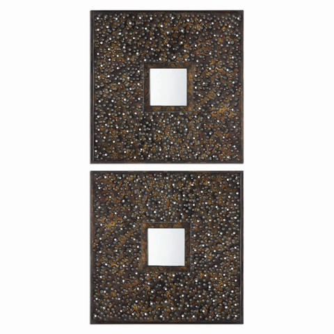 Uttermost Company - Maritsa Squares Mirror - 07695