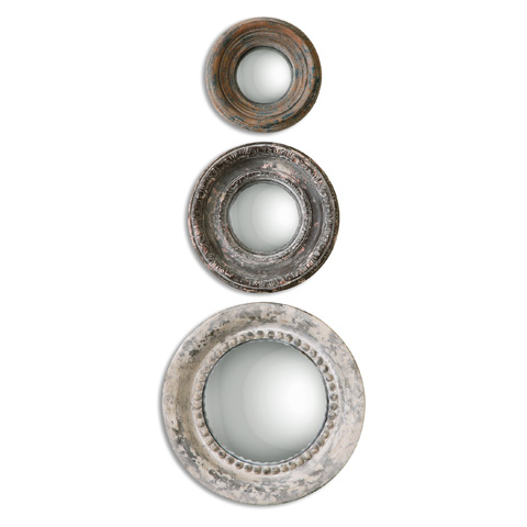 Uttermost Company - Adelfia Rounds Mirror - 12921