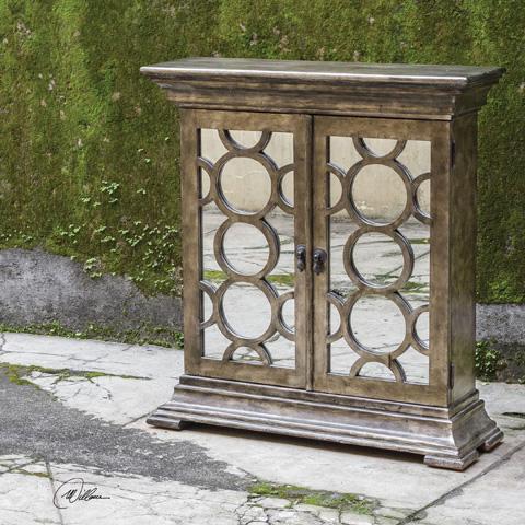 Uttermost Company - Glasson Console Cabinet - 25684