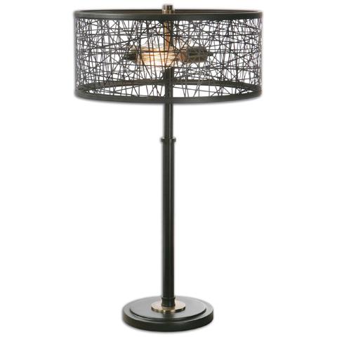 Uttermost Company - Alita Black Table Lamp - 26131-1