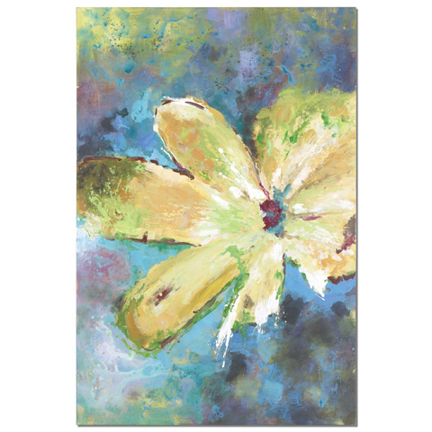 Uttermost Company - Blossom in Yellow Art - 34350