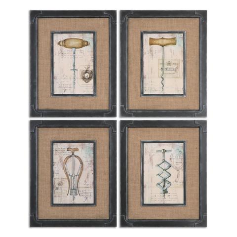 Uttermost Company - Antique Corkscrews Art - 55029