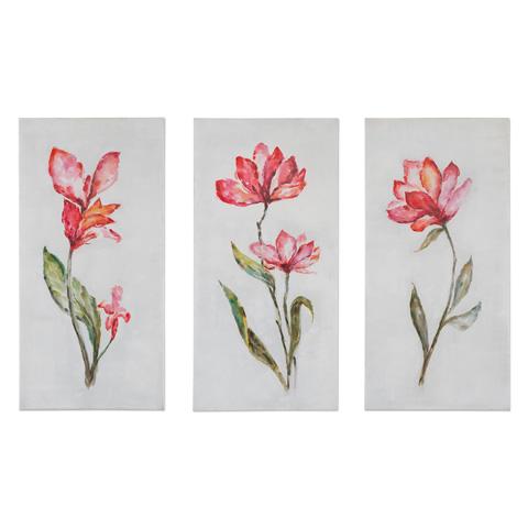 Uttermost Company - Springtime Promise Art-Set of Three - 35331