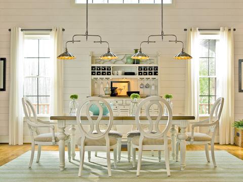 Universal Furniture - Two-Tone Rectangular Dining Table - 987652