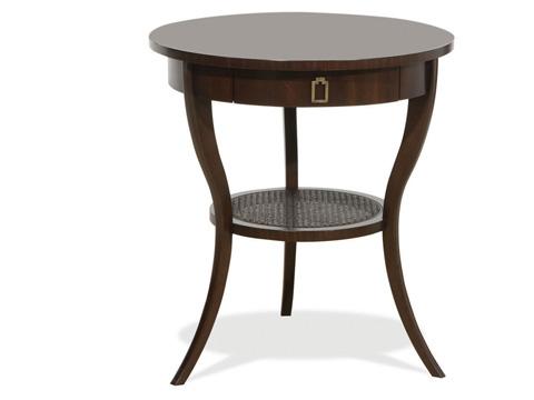 Vanguard Furniture - Round Lamp Table - C304L-ES