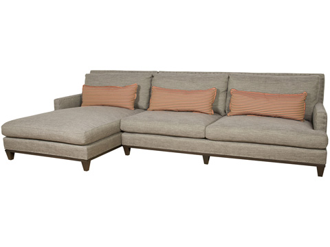 Vanguard Furniture - Hudson Sectional - W127SECT