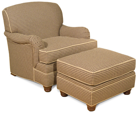 Vanguard Furniture - West Lake Ottoman - 633-OT