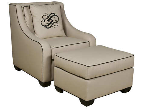Vanguard Furniture - Barkley Ottoman - 641-OT