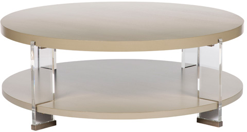 Vanguard Furniture - Dell Rey Round Cocktail Table - P402C
