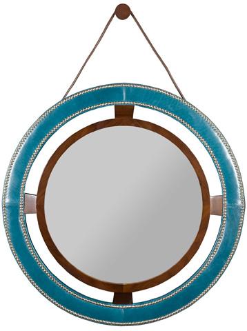 Vanguard Furniture - Robineau Road Upholstered Round Mirror - L9400-MI
