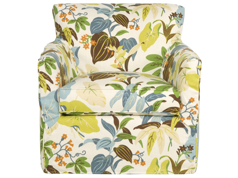 Vanguard Furniture - Wendy Swivel Chair with Slipcover - S235-SW