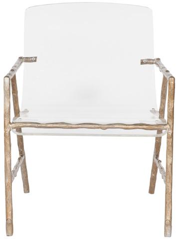Vanguard Furniture - Dillard Metal and Acrylic Chair - V926-CH