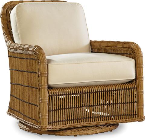 Lane Venture - Rafter - Celerie Swivel Glider Lounge Chair - 506-86