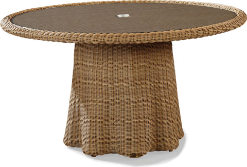 Lane Venture - Crespi Wave - Celerie Round Dining Table - 9513-52