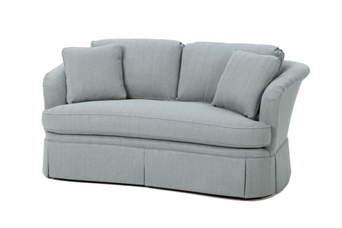 Wesley Hall, Inc. - Skirted Sofa - 1530-72