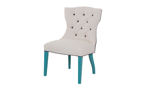 Wesley Hall, Inc. - Tufted Side Chair - 634