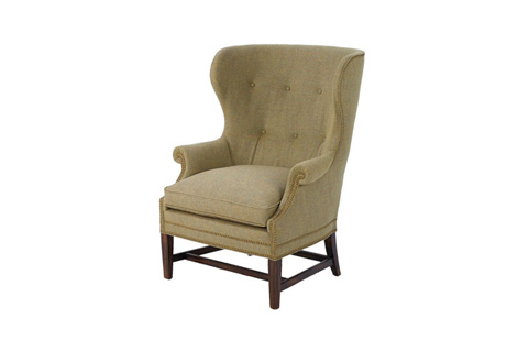Wesley Hall, Inc. - Wing Back Chair - 787