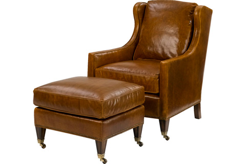 Wesley Hall, Inc. - Wing Back Chair - L7117