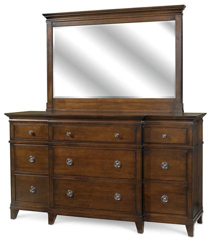 West Bros - Nine Drawer Breakfront Dresser - 91575-517