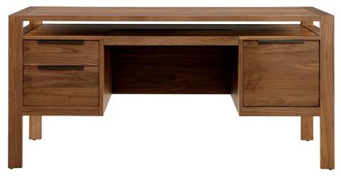 West Bros - Three Drawer Desk with Keyboard Tray - 61279-359