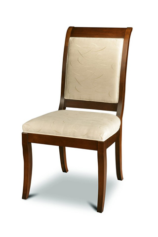 West Bros - Upholstered Back Side Chair - 138-123