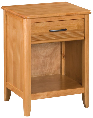 Whittier Wood Furniture - One Drawer Pacific Nightstand - 1103GSP