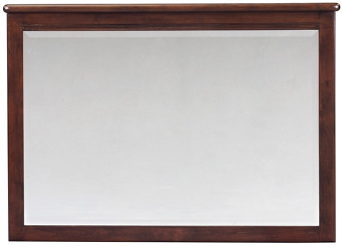 Whittier Wood Furniture - Pacific Beveled Mirror - 1501CAF