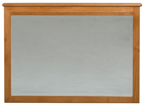 Whittier Wood Furniture - Pacific Beveled Mirror - 1501GSP