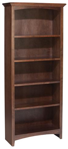 Whittier Wood Furniture - McKenzie Alder Bookcase - 1523AECAF