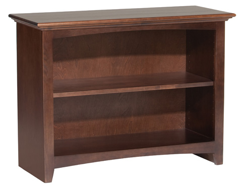 Whittier Wood Furniture - McKenzie Alder Bookcase - 1540AECAF